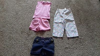 Baby Girls Small Summer Bundle Age 12-18 Months