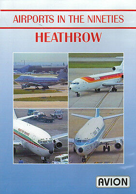 Airports in the Nineties - Heathrow 747 737-200 DC9 BAC1-11 DVD