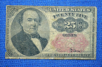 Series of 1874 - United States 25 Cents Fractional Currency