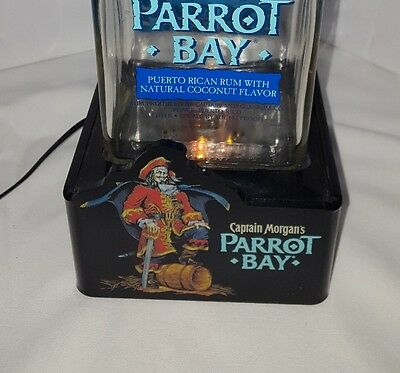 Capitan Morgan Parrot Bay Light Up Display