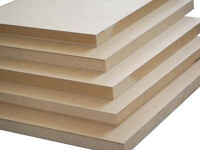 MDF Smooth Board. Sized A1 594 x 841mm Pack of 3. In a range of thickness
