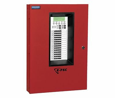 Edwards Signaling E-Fsc1004R  Alarm Control Panel 10 Zone Red 1Exy2 New!