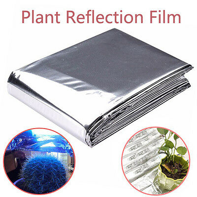 BG296 Silver Plant Reflective Film Grow Light Accessories 82x47 Inch