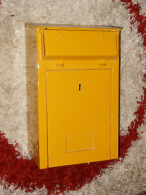 Original antiker Briefkasten Bundespost / Reichspost / boite lettres / Post box