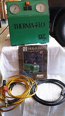 Therma Flo Oz Saver 4000 Refrigerant Recovery Unit