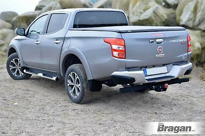 To Fit 16+ Fiat Fullback Double Cab Tri Fold Soft Tonneau Vinyl Cover Short Bed