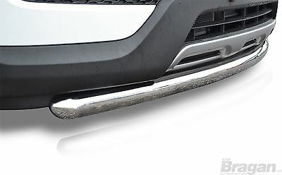 To Fit 2015+ Renault Kadjar Stainless Steel Front Bumper Spoiler Nudge Chin Bar