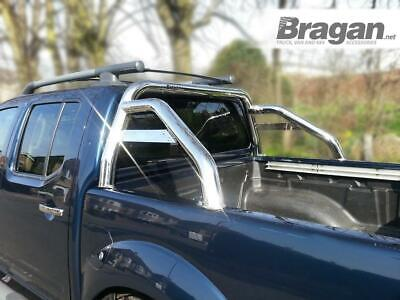 To Fit 2005 - 2016 Nissan Navara D40 Sport Rollbar Roll Bar Stainless Steel