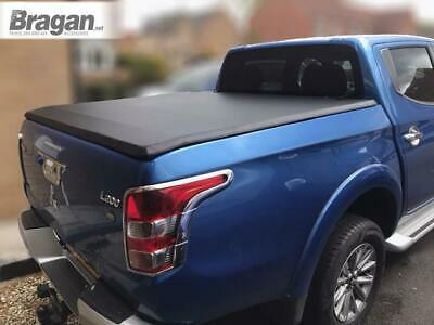 To Fit 2015-19 Mitsubishi L200 Triton Strada Soft Tonneau Cover Short Curved Bed