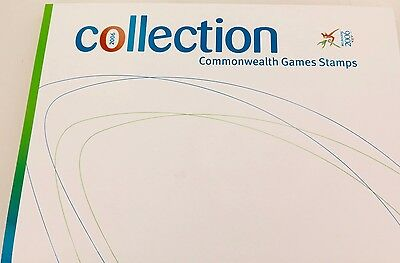 Complete Set / Book Of 2006 Melbourne Commonwealth Games Stamps, Mint Condition.