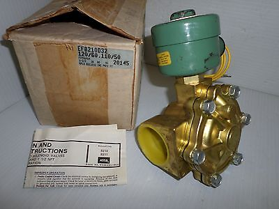 "* NEW IN BOX * ASCO EF8210D32 2-Way EXPLOSION PROOF SOLENOID VALVE 1-1/2"" 120Vac"