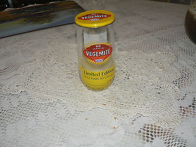 Collectable Vegemite Glass *Celebrating 80 Years 1923-2003