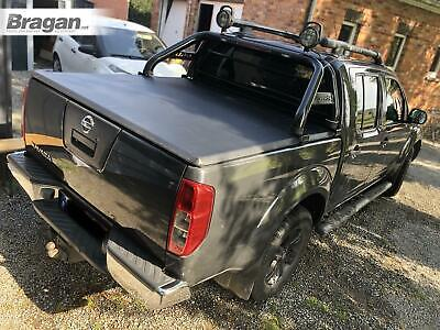 To Fit 2005 - 2016 Nissan Navara D40 Tri Fold Soft Tonneau Cover Double No Drill