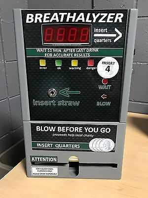 Coin Operated Breathalyzer Vending Machine - Free Shipping !
