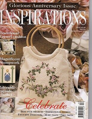 Inspirations 40 Country Bumpkin Embroidery  Multi-size Sewing Patterns