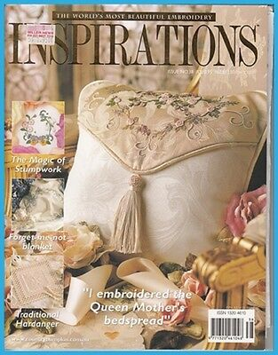 Inspirations 38 Country Bumpkin Embroidery  Multi-size Sewing Patterns