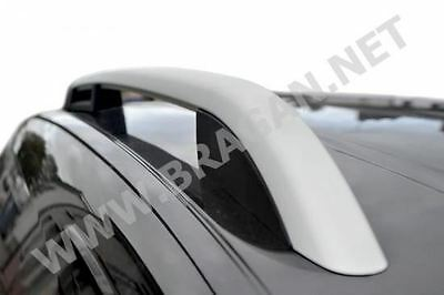 To Fit 1997 - 2008 Peugeot Partner Polished Aluminium ABS Roof Rails Bars