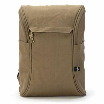 """Booq DP-CLC Daypack Backpack Carry Bag for 13-15"""" Laptop/Macbook Brown Canvas"""