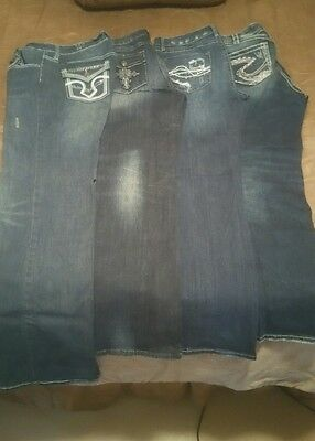 Womens Lot of 4, Cowgirl Jeans!