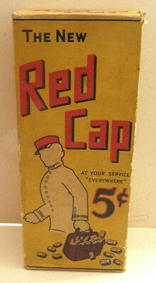 c1920s The New Red Cap Candy Bar Counter Display Euclid Candy Co. San Francisco