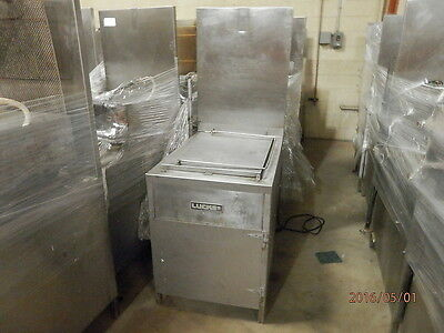 Lucks Model E1 826 Electric Donut Fryer With Filter