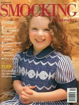 Australian Smocking & Embroidery Issue 42 Multi-size Patterns