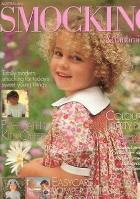 Australian Smocking & Embroidery Issue 35 Multi-size Patterns