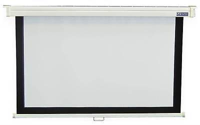 54 in. x 96 in. Econopro Deluxe Manual Wall Screen in 16:9 HDTV Forma [ID 48789]
