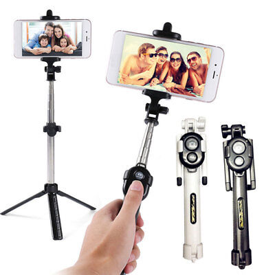 New Extendable Selfie Stick Tripod Remote Bluetooth Shutter Fit iPhone 7 Plus