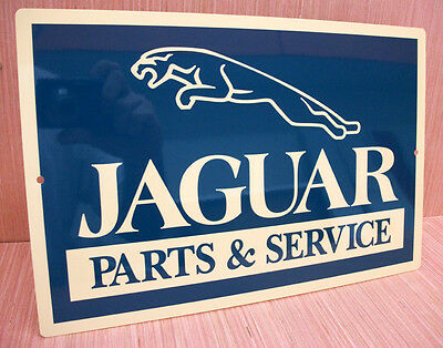 Jaguar Parts & Service Metal Sign Xj S E Type Xkr Roadster S3 Mark Xk150