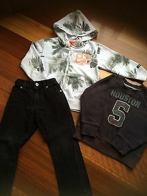 Boys Size 3 Winter Pants And Jumpers