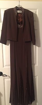Women's Montage By Mon Cheri Mother of the Bride Dress Size 6