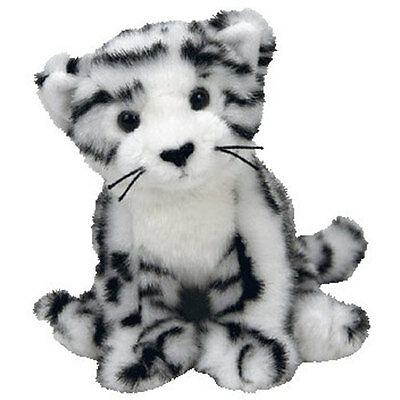 eed6ae7c293 TY BEANIE BABY - TUNDRA the White Tiger (6 inch) - MWMTs Stuffed Animal Toy  -  10.89
