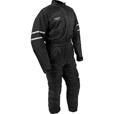 Weise Siberian Black Motorcycle Motorbike One Piece Nylon Rain Suit All Sizes