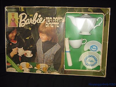Vintage 1970s Barbie Francie Tea Set Made in Toronto Canada By Reliable Toy CB