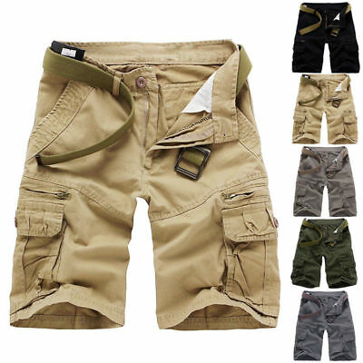Men Military Army Combat Casual Sports Trousers Tactical Camo Pants Cargo Shorts