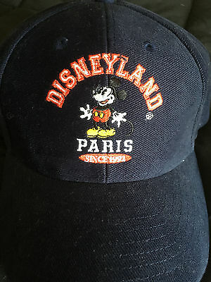 DisneyLand Paris Blue Adjustable Strap Hat