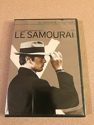 Le Samourai - Criterion Collection DVD Rare Out Of Print New Sealed