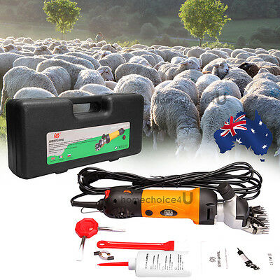 Electric 380W Sheep Shearing Clipper Shear Shears Alpaca Farm Goats Supplies