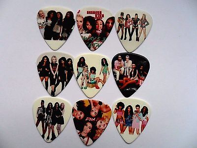 Stunning Set of 9  LITTLE MIX  Guitar   1mm Plectrum  Picks Two Sided