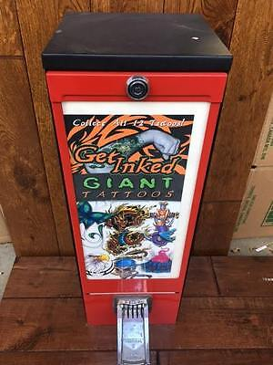 Giant Tattoo sticker bulk vending machine for candy and toy route business