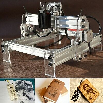500mW Desktop Laser Engraving Engraver Cutting Machine Marking Carver Printer