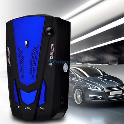 Car 16 Band 360 ° GPS Radar Detector Scanning Voice Alert Speed Safety UK