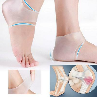 New Silicone Moisturizing Gel Heel Socks Cracked Foot Skin Care Protectors
