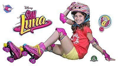 Soy Luna Protection Kit Skating Elbows and Knees Size S, M, L Disney Security