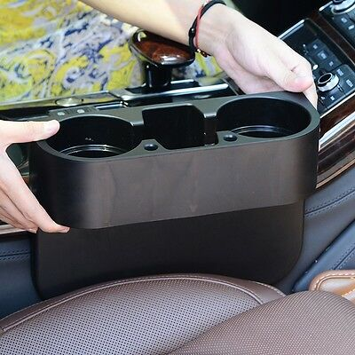 Black Cup Holder Car Van Storage Drinking Bottle Universal Car Mug Mount Stand