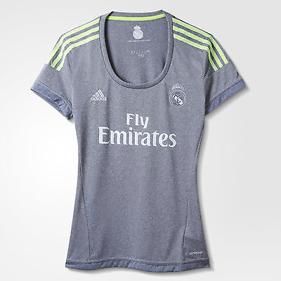 Real Madrid Ladies away jersey Adidas S12628 sizes XXS - Large ( new in bag)