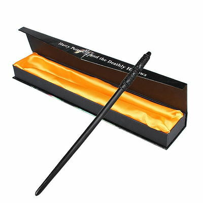 2017 Magic Movie Harry Potter 13.8'' Severus Snape Magical Wand In Box Use Gift