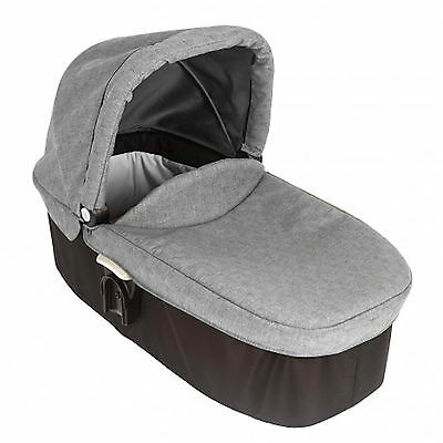 New Graco Evo Hard Carrycot Baby Carry Cot Infant Bed From Birth Slate Grey
