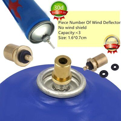 Outdoor Camping Hiking Stove Gas Burner Gas Cylinder Tank Refill Adapter GD